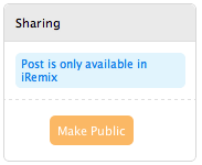 Sharing - Private